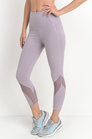Wave Mesh Highwaist Leggings