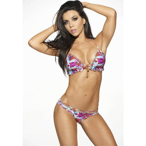 ERIN 2-Piece Thong & Triangle Bikini Set