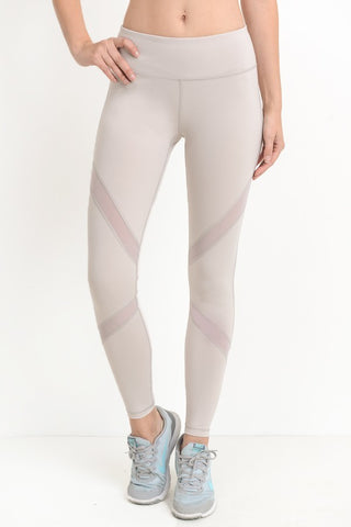 Cross Mesh Leggings