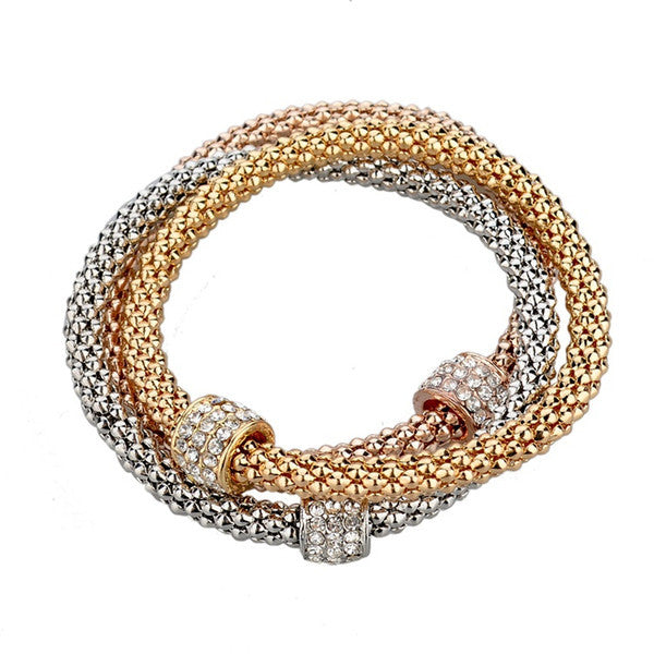 High Fashion Gold Platted Bangle Bracelets
