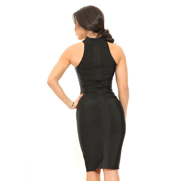 CANDISE Open Cut Cocktail Dress