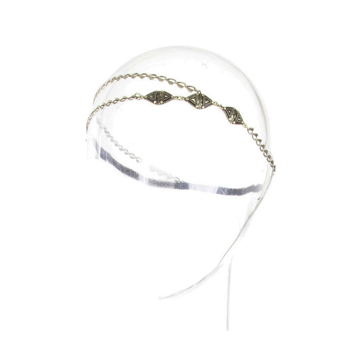 Tribal Layered Chain Headband
