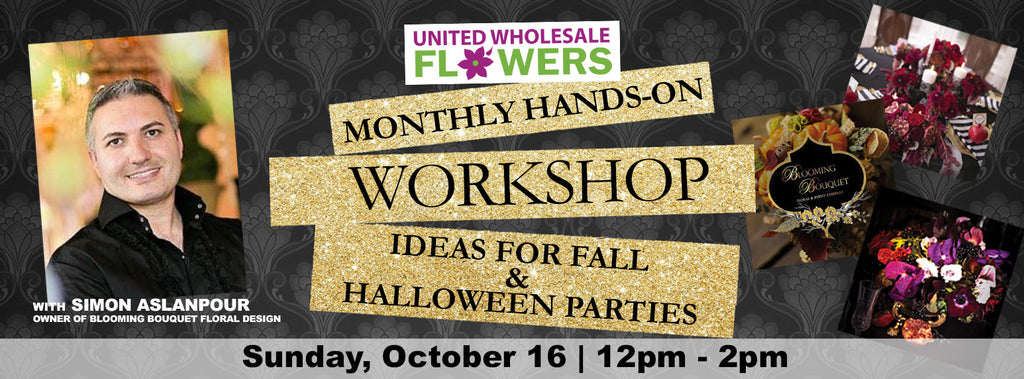 October 16 Workshop: Ideas for Fall & Halloween Parties