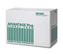 "0180 OASIS ADVANTAGE+ FLORAL FOAM 9X4X3"" - BX/48 - CS(10)"