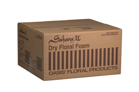 "0600 SAHARA DRY FOAM 9X4X3"" - BROWN - CS(20)"