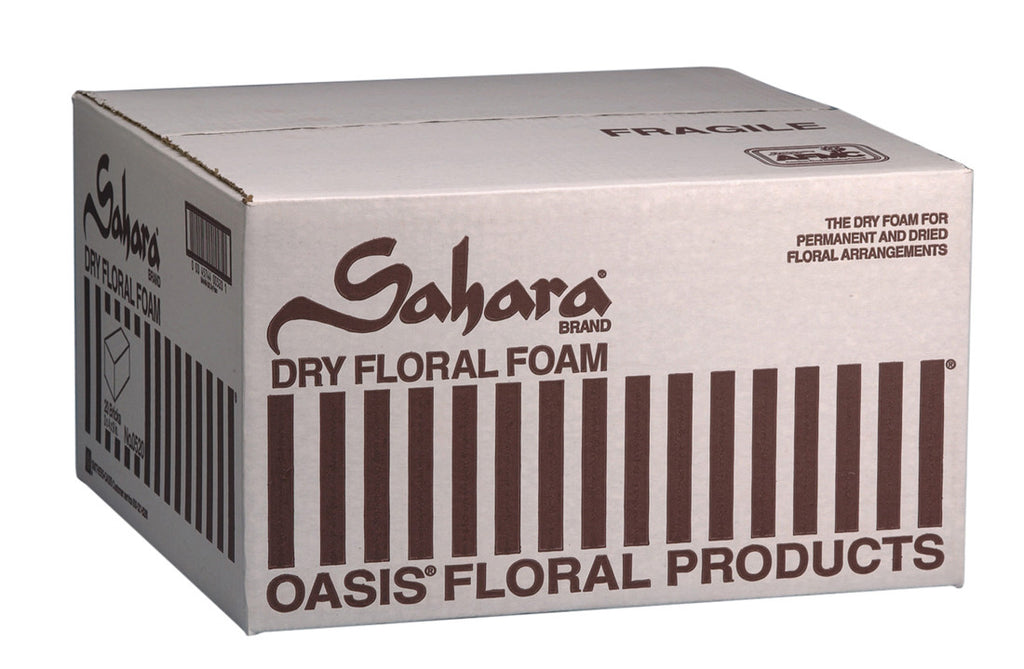 "0620 SAHARA DRY FOAM 9X4X3"" - GREEN - CS(20)"