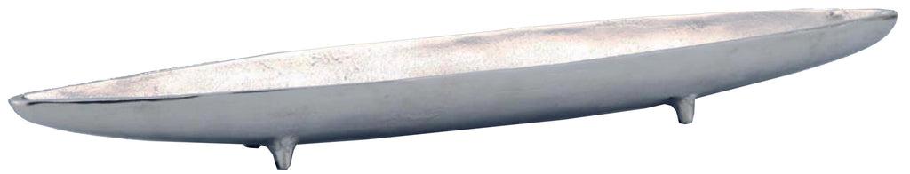 "11348 METAL BOAT 24"" - NICKEL - CS(3)"