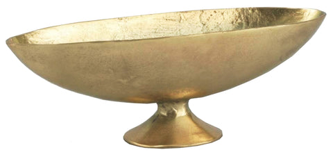 "11427 BOWL 13.5X4.5X4.5"" - GOLD - CS(6)"
