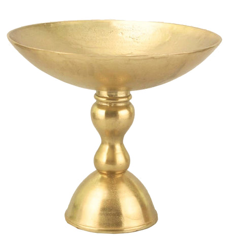 "11433 METAL CHALICE 15X14"" - GOLD - CS(2)"