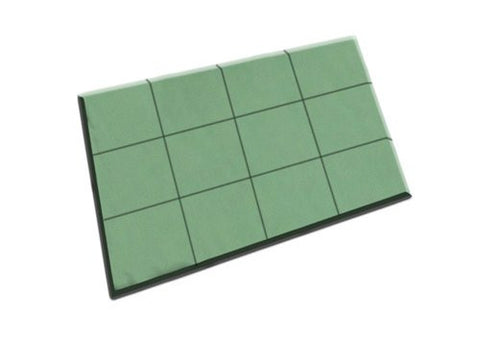 "11-03251 FLORAL FOAM TILE 24X18X1.5"" - CS(4)"