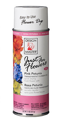 124 Just For Flowers Spray - Pink Petunia - CS(4)