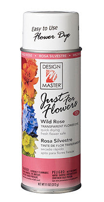 125 Just For Flowers Spray - Wild Rose - CS(4)
