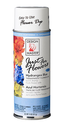 135 Just For Flowers Spray - Hydrangea Blue - CS(4)