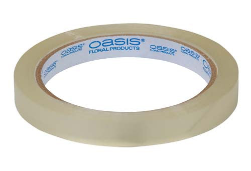 "1641 OASIS FLORAL TAPE 0.5""x60yds - CLEAR - CS(48)"