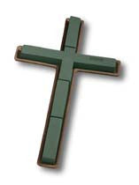 "1835 OASIS® Mache Cross 24"" - 2/PK - CS(2)"