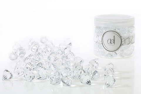22220.00 Diamond Beads 16 oz Small - Clear - CS(24)