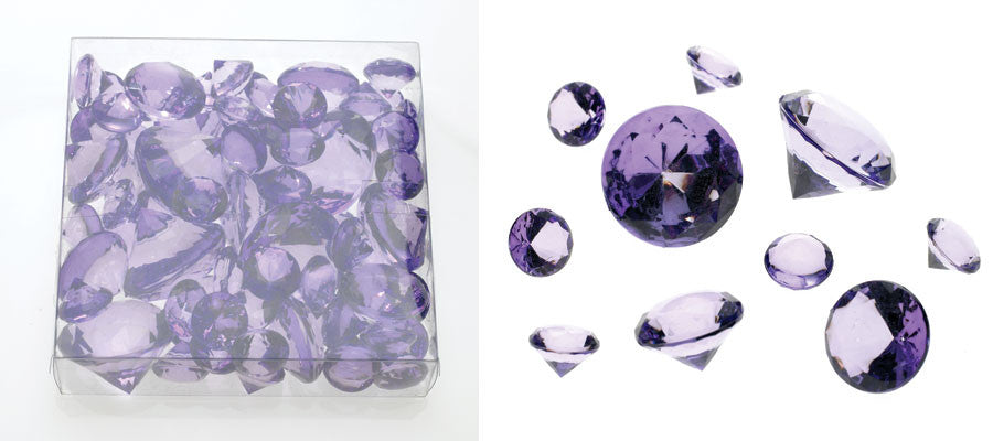 22260.38 Asst. Diamond 300gr - Lavender - CS(24)