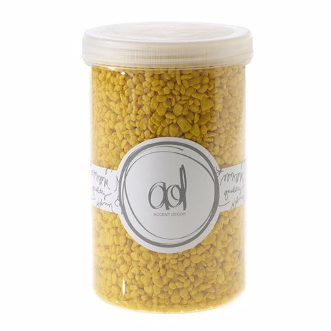 22310.02 Deco Pebbles 46 oz - Yellow - CS(6)