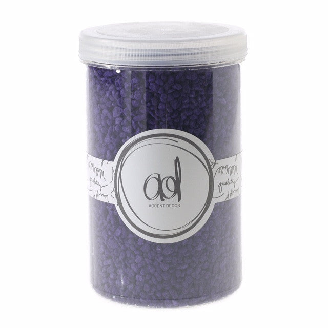 22310.37 Deco Pebbles 46 oz - Purple - CS(6)