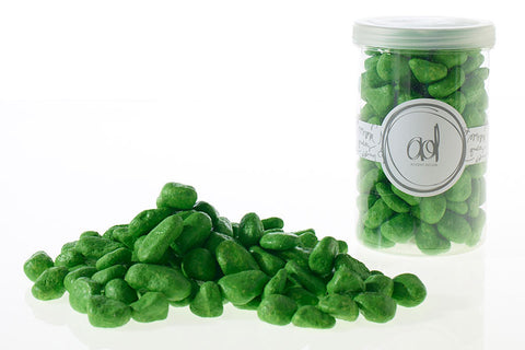 22320.05 Deco Rocks 46 oz - Green - CS(6)