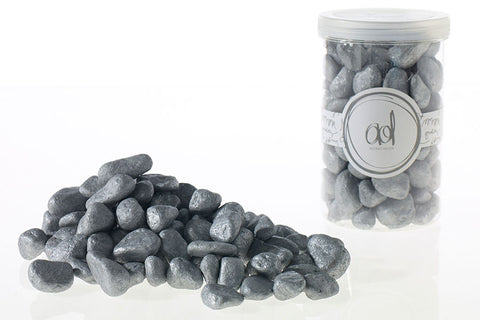 22320.50 Deco Rocks 46 oz - Silver - CS(6)
