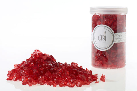 22420.03 Crushed Glass 4-10mm/ 46 oz - Red - CS(6)