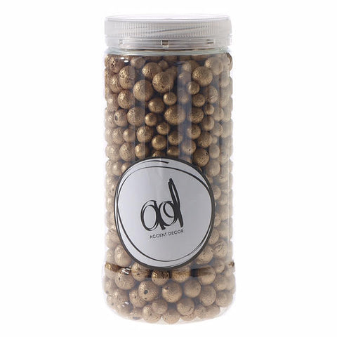 25040.40 Clay Pebble 37 oz - Gold - CS(6)