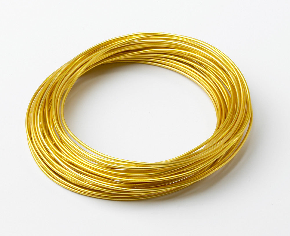 2601 ALuminum Wire 39' - Gold - CS(10)