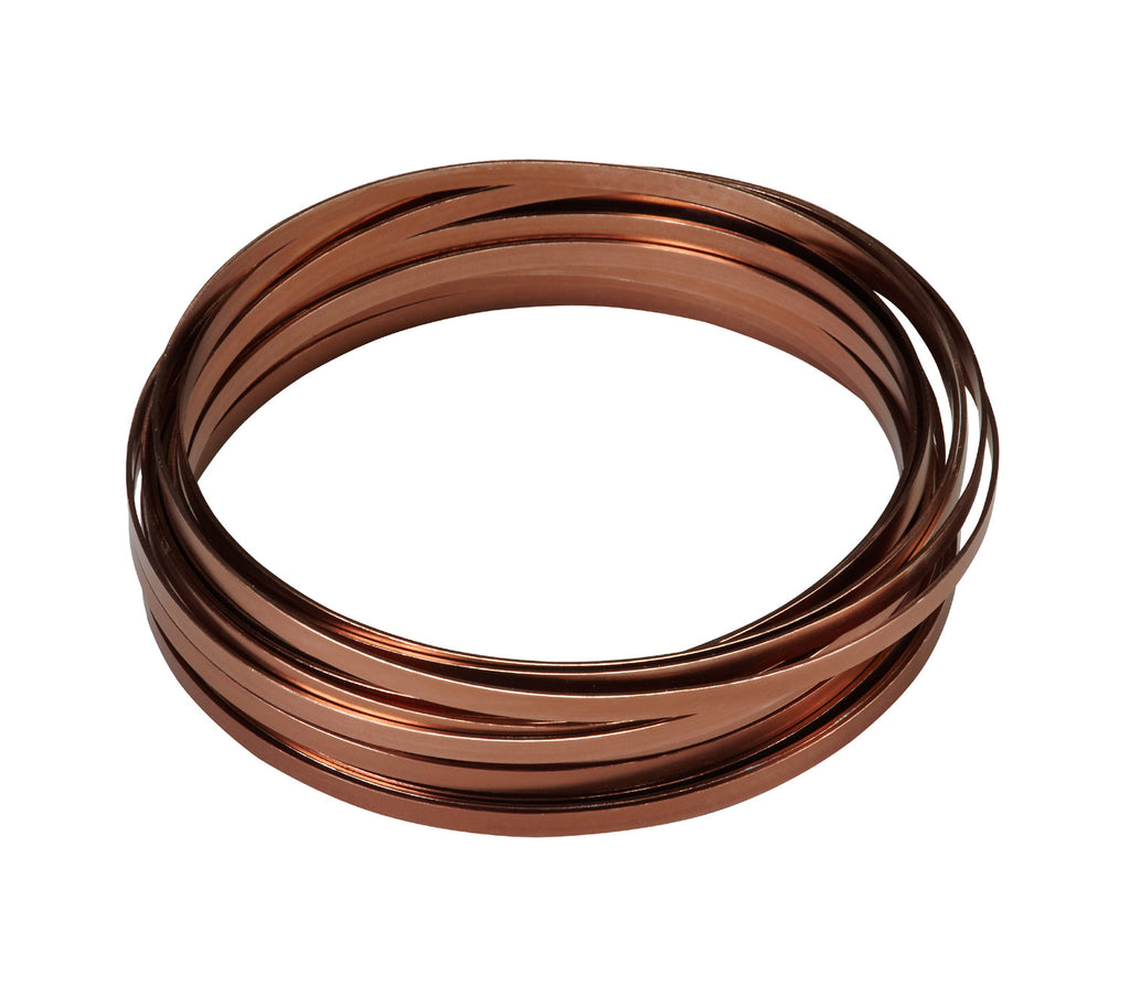 "2770-BR Flat Wire 3/16""x32.8' - Brown - CS(10)"
