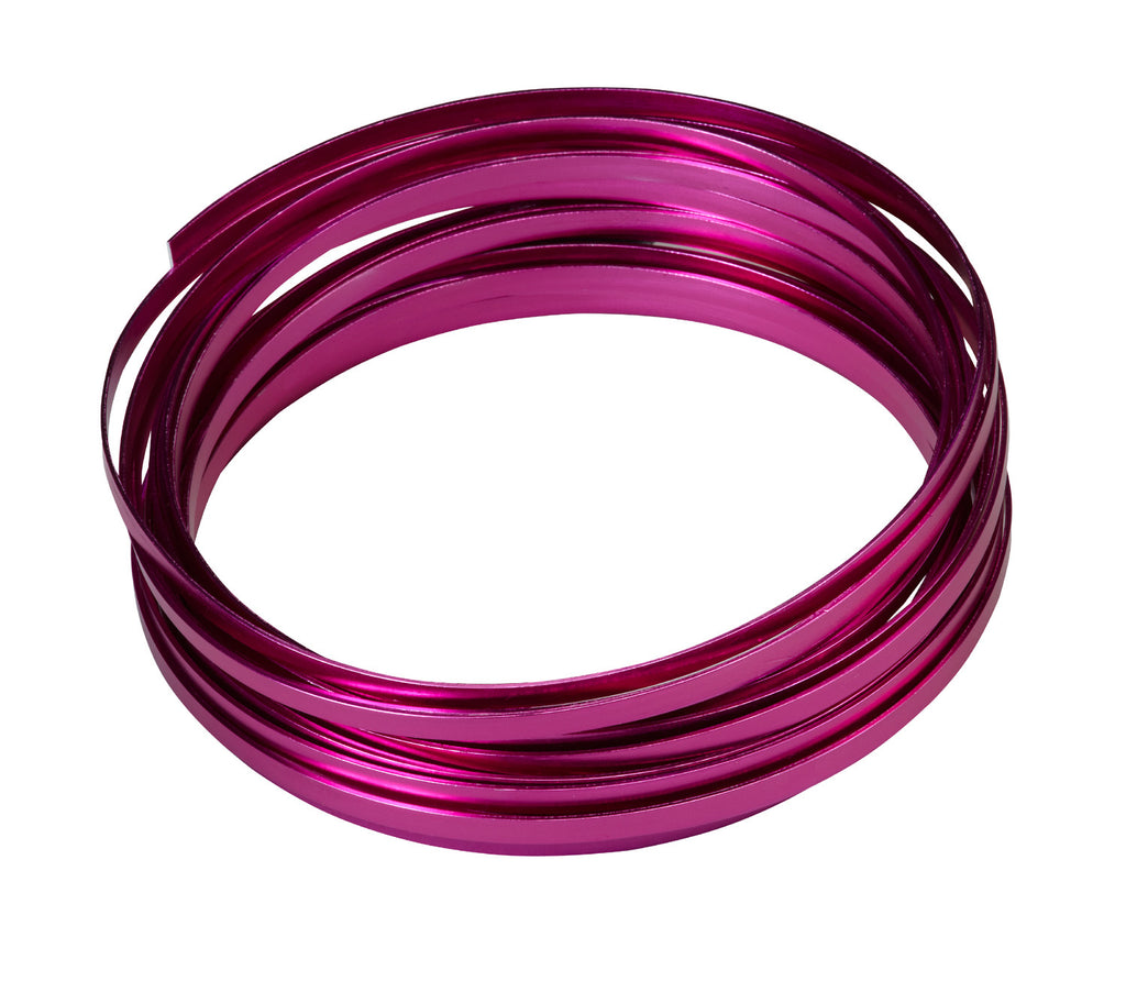 "2770-SP Flat Wire 3/16""x32.8' - Strong Pink - CS(10)"