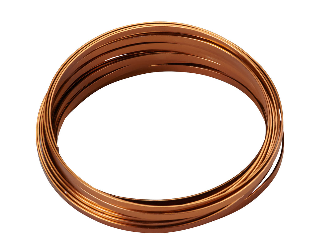 "2773 Flat Wire 3/16""x32.8' - Copper - CS(10)"