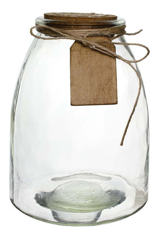 "3197-00-09 HADLEY JAR W/ CORK & HANG TAG 2.625X7"" - CS(4)"