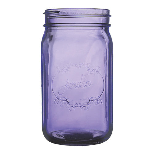 "3207-24-425 JARDIN VINTAGE JAR 3X6.5"" - PURPLE - CS(24)"