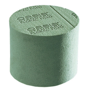 "3210 OASIS Floral Foam Cylinders 4x3 1/16"" - CS(36)"