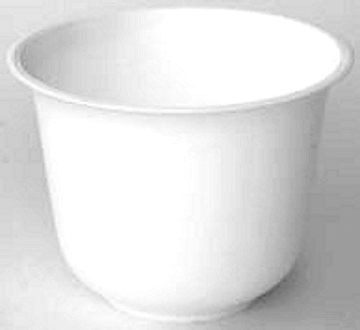 "330W Spun Planter 7.5x5.5"" - White"