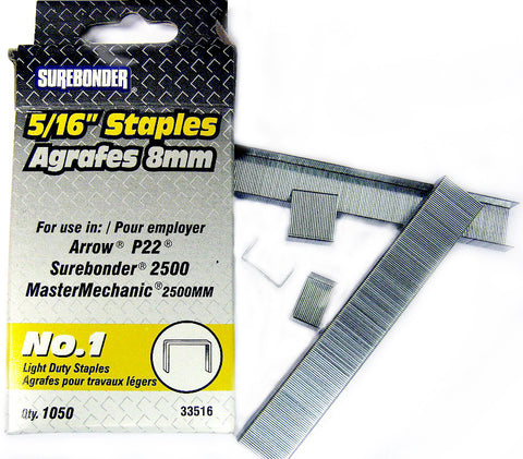 "33516 STAPLES 5/16"" - CS(5)"
