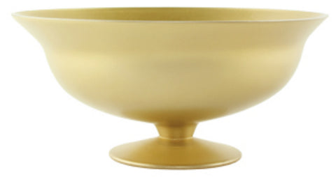 "3472-02-816 FOOTED BOWL 10.125X5"" - CHAMPAGNE - CS(2)"
