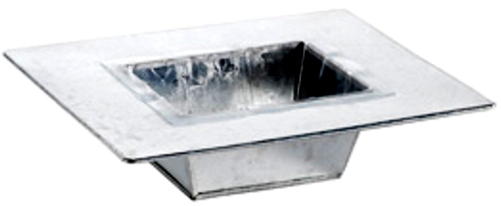 "3707-09-808 9 1/2"" Tin Tray with liner"