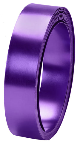 40-12472 Flat Wire 1''x15' - Purple - CS(10)