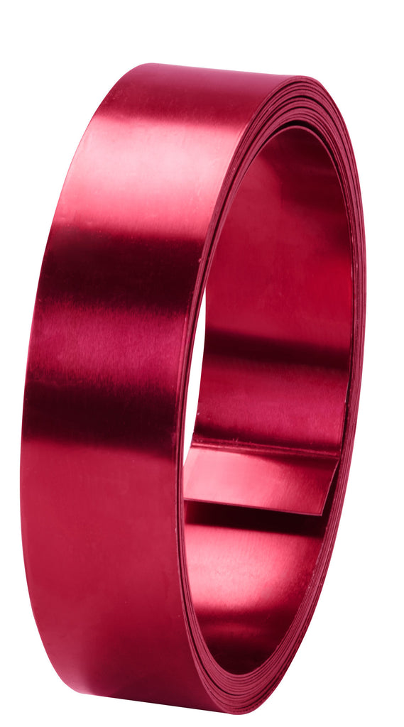 40-12473 Flat Wire 1''x15' - Red - CS(10)