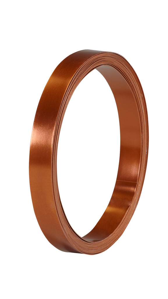 40-12482 Flat Wire 1/2''x15' - Copper - CS(10)