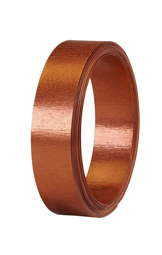 40-12491 Flat Wire 1''x15' - Copper Matte - CS(10)
