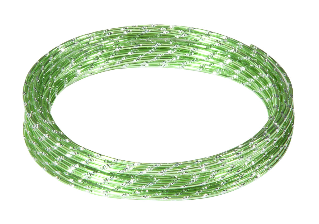 40-12583 Diamond Wire 32.8' - Apple Green - CS(10)