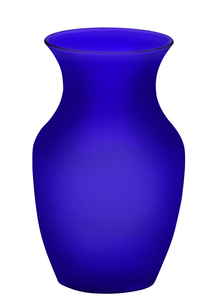 "45-03999 GARDEN VASE 4X8"" - PURPLE MATTE - CS(12)"