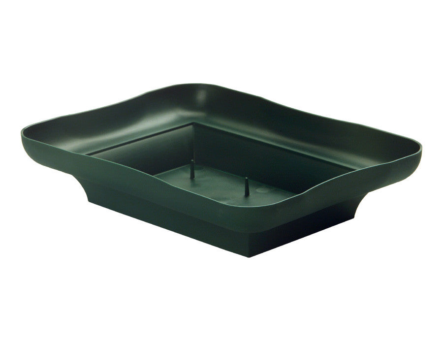 Copy of 3805-04 Centerpiece Tray 2x6.5x8.5' - Green