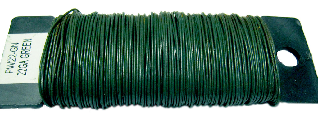 522600 PADDLE WIRE 26 Gauge - GREEN - CS(20)