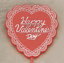5342 HAPPY VALENTINE'S DAY PICK - Asst. Hearts - 12/PK  CS(12)