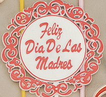 5353 FELIZ DIA DE LAS MADRES PICK RED/WHITE 12/PK CS(12)