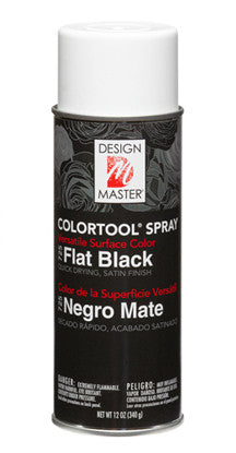 725 ColorTool Spray - Flat Black - CS(4)