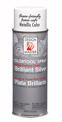 734 ColorTool Metals Spray - Brilliant Silver- CS(4)